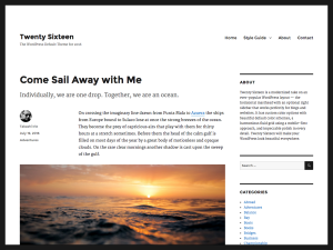 ۲۰۱۶ wordpress theme